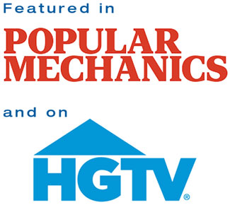 Featured In Popular Mechanics and On HGTV