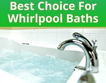 Ozone clean for whirlpool baths