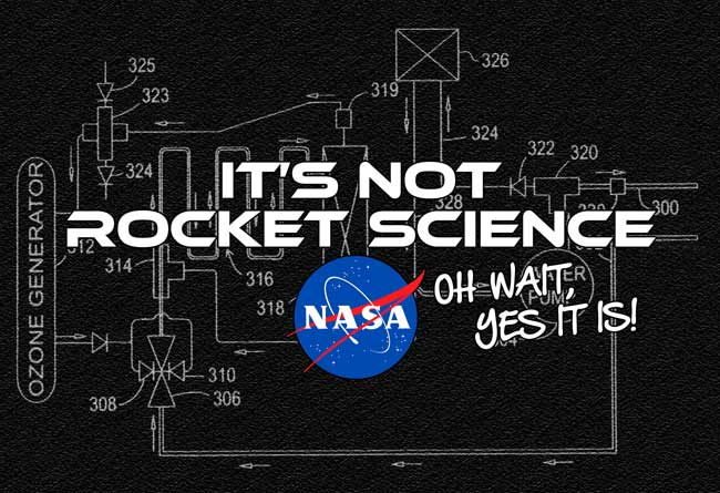 Its not rocket science oh wait yes it is NASA graphic