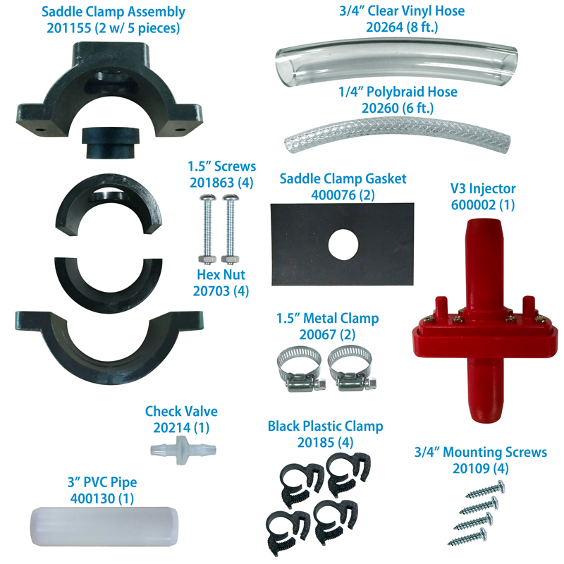 Saddle Clamp kit