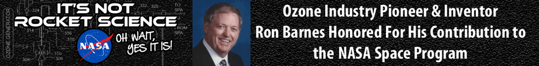 link to news about ozone water purifier Inventor Ron Barnes