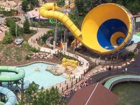 Water Park aerial photo