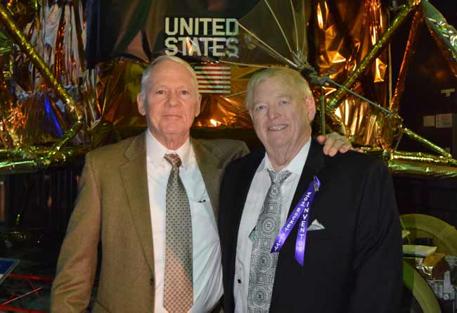 Roy Reed and Ron Barnes attend 'Inventors Ball' at the USSRC