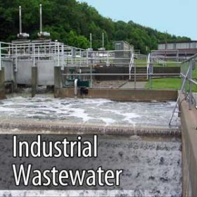 ozone for cleaning industrial wastewater