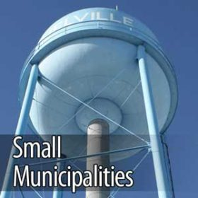 ozone for clean water of small municipalities