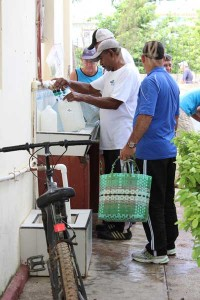 photo of Living Waters for The World and Prozone providing water to Cuba