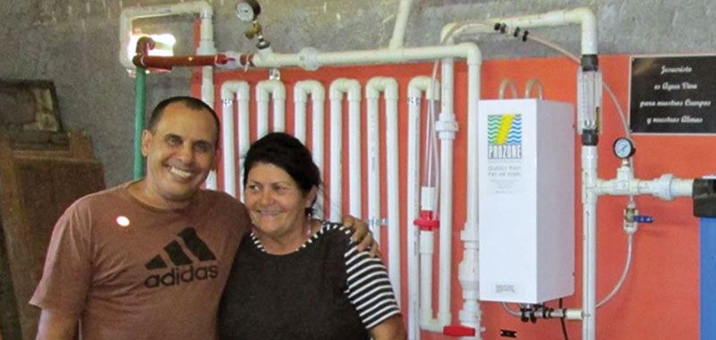 Living Waters For The World and Prozone bringing clean water to Cuba