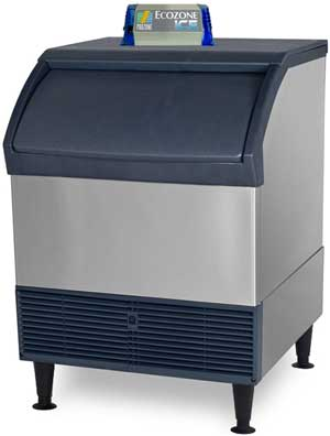 UV/Ozone for ice machines