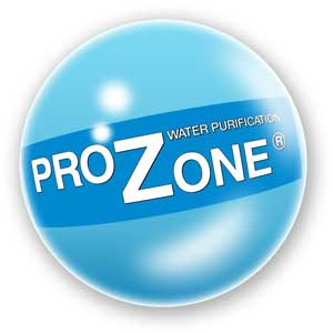 Prozone's first logo from 1977 in a bubble